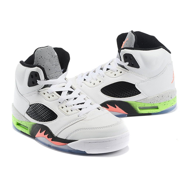 new style 2f094 7d8e3 good Erin H Fyfe Men s Running Shoes Fashion Sneakers Air Jordan 5 AJ5 Grey  Basketball Shoes