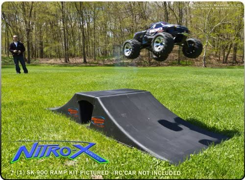 Skateboard BMX Double Ramp and Transition Kit