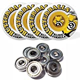 Sector 9 Butterballs Slide Formula 65MM 80A Longboard Wheels Set of 4 WITH BEARINGS