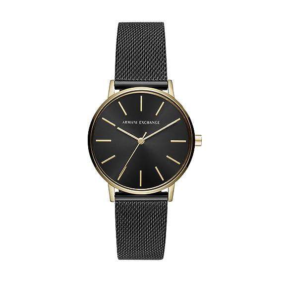 Armani Exchange Reloj Analogico para Mujer de Cuarzo con Correa en Acero Inoxidable AX5548
