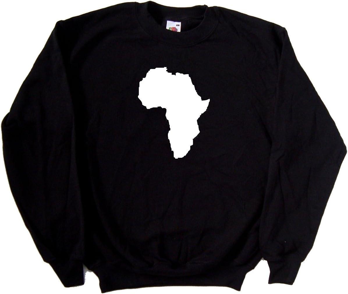 Africa Outline Kids Hoodie Sweatshirt