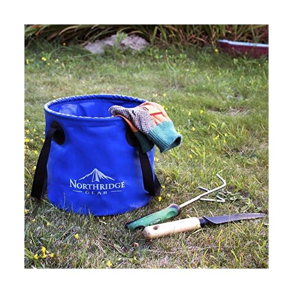 61o6Wng 8uL Falteimer Faltschüssel Spülschüssel   Camping Angeln Garten Party   Einsetzbar als Faltbare Wasch-Schüssel…