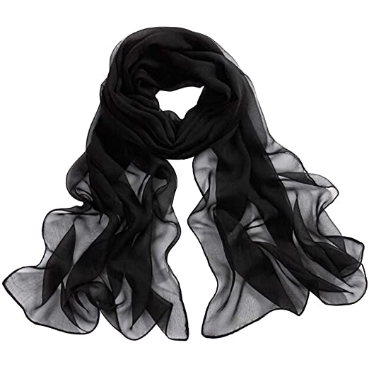 a7d71d220a086 Hot New! Chiffon Scarf, Girls Women Long Soft Thin Wrap Shawl Candy ...