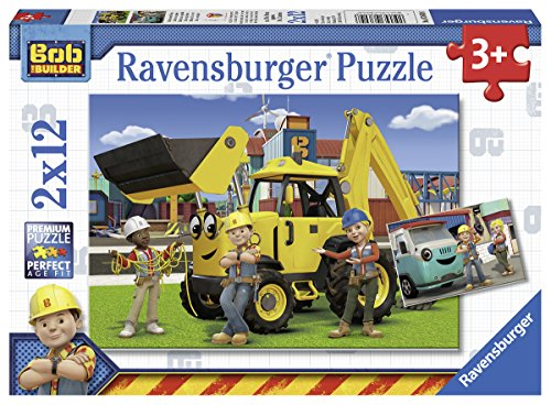 Ravensburger Builder: Bob and His Team Jigsaw Puzzle (2 x 12 Piece)