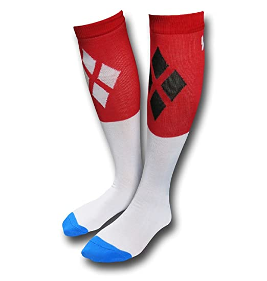 Suicide Squad Harley Quinn Bad Guys Socks At Amazon Women S Clothing
