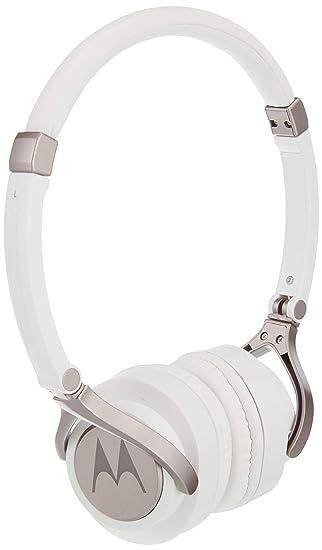 081e91110e4 Motorola Pulse 2 On Ear Wired Headphone (White): Amazon.in: Electronics