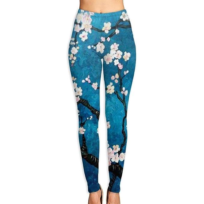 aefd62d8ea138 Amazon.com: Winter Plum Printed High Waist Yoga Capris Pants Full-Length  Yoga Workout Leggings Pants for Women: Clothing