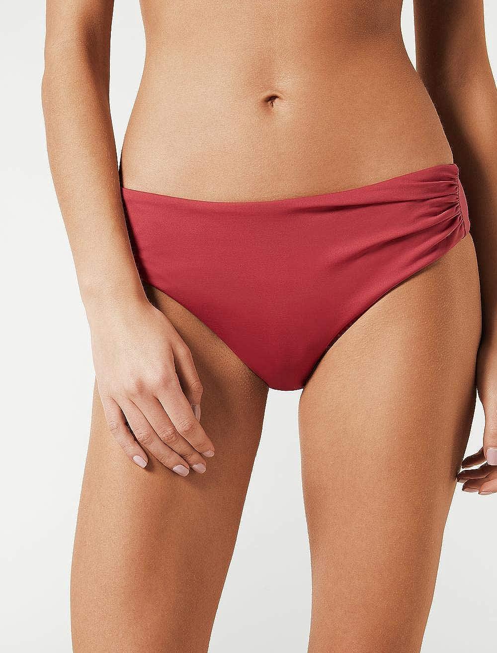 Calzedonia Womens Indonesia High-Waisted Bikini Bottoms