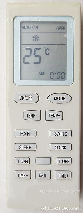 ANSONIC aire acondicionado de control remoto para Gree Saivod YB1B4: Amazon.es: Electrónica