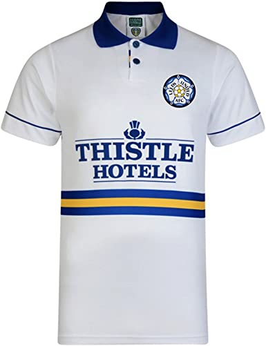 Amazon Com Leeds United Fc Mens 1994 Shirt Xxl White Clothing