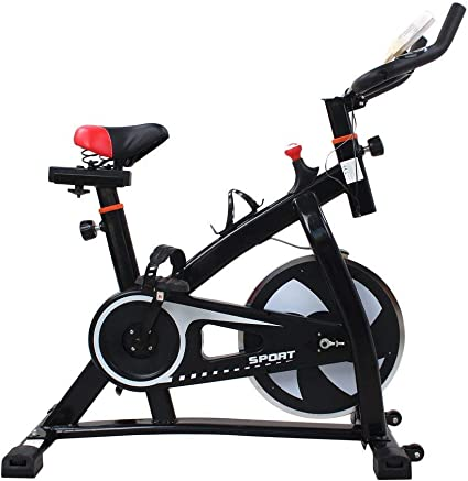 Poncherish S300 Indoor Cycling Bike con 8 kg de Volante de inercia ...