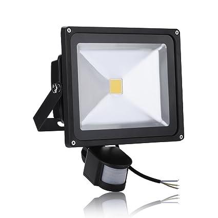 MCTECH 50W LED Proyectores Proyectores con el movimiento de la lámpara a prueba de agua Caliente