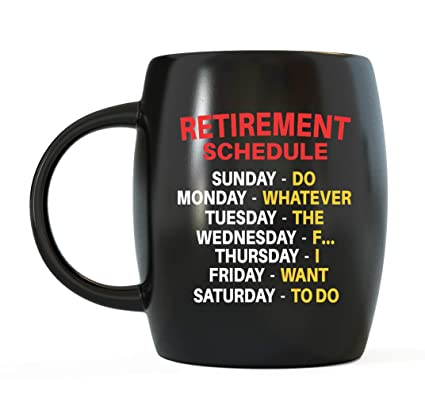 3d4edef1b30c Amazon.com  Mug A Day - Retirement Gag Gifts Ideas for Boss ...
