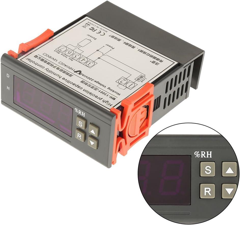 Asixx Hygrostat, AC220V Hygrostat avec Sonde Contrôleur d