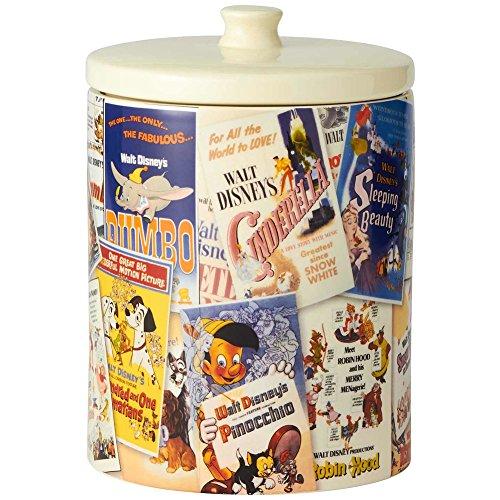 Disney Movie Poster Collage Cookie Jar Dumbo Pinocchio Snow