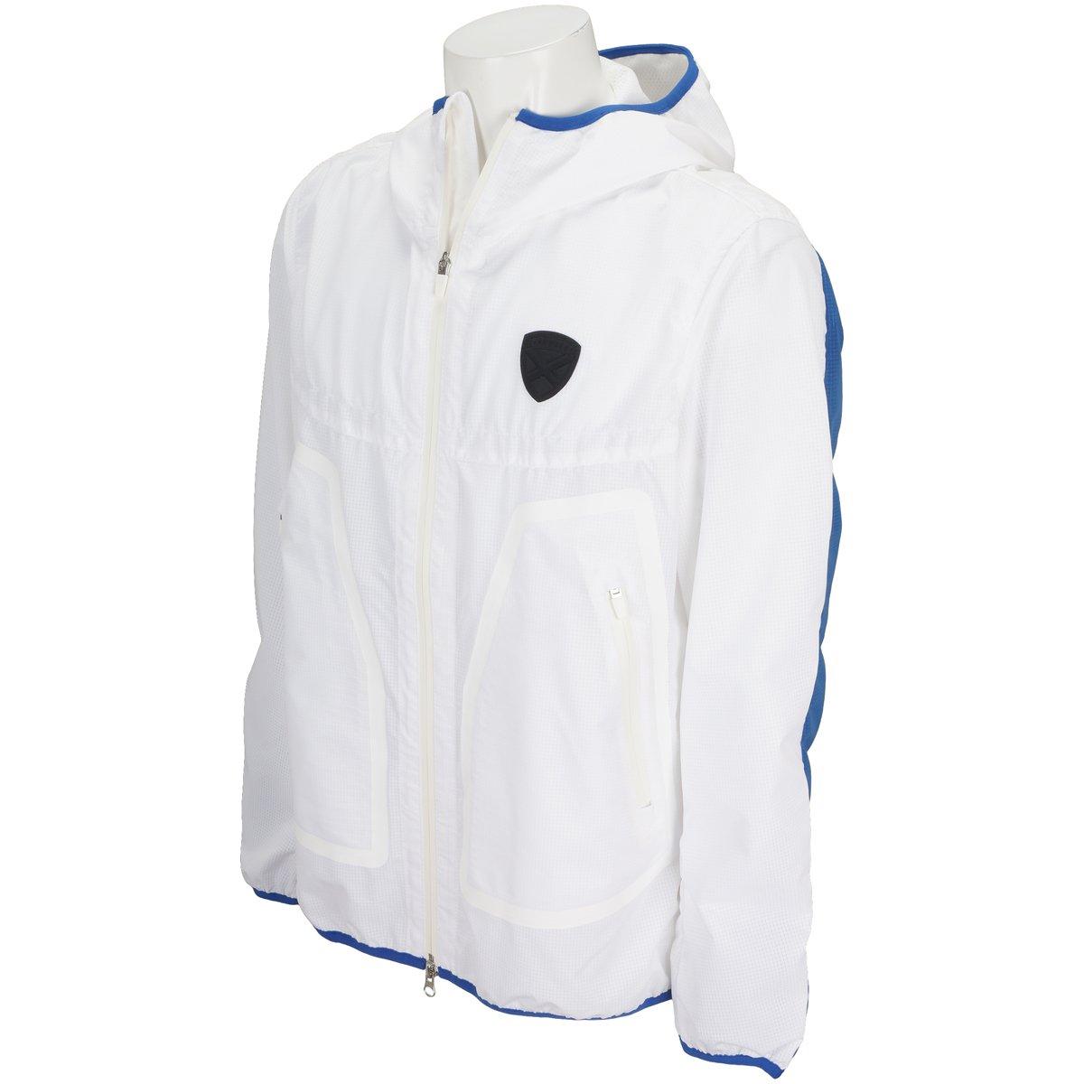 セントアンドリュース St ANDREWS アウター(ブルゾン、ウインド、ジャケット) COOL DOTSブルゾン B079ZSRSYL LL ホワイト 030 ホワイト 030 LL