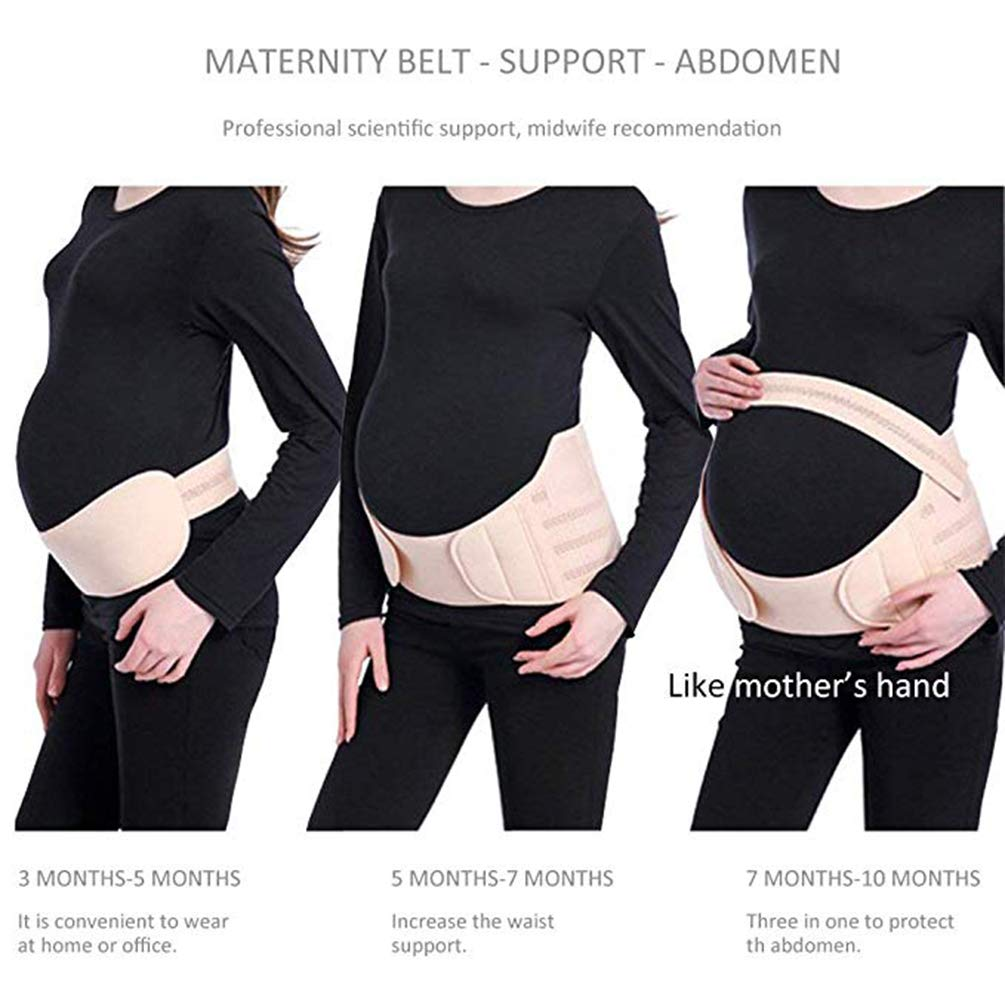 Voken Maternity Belt,Pregnancy Belt,Maternity Belly Support Band,Breathable Pelvic Back Support Brace