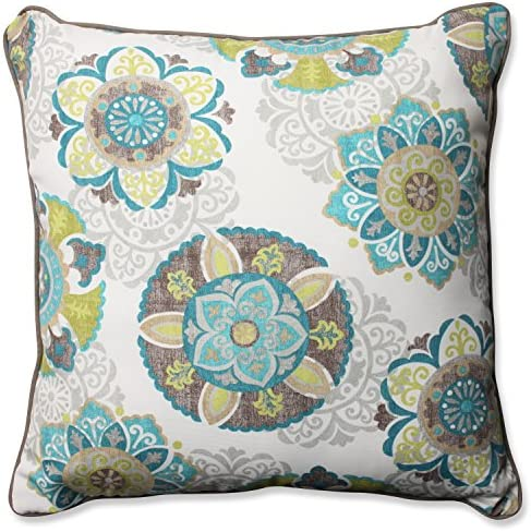 Pillow Perfect Outdoor/Indoor Allodala Oasis Floor Pillow