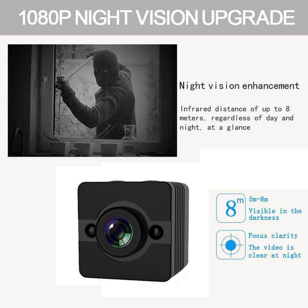 1080P DV cámara de acción para deporte (esquí buceo esnórquel), coche, bicicleta, motocicleta. Con infrarrojos de visión nocturna, con detección de ...