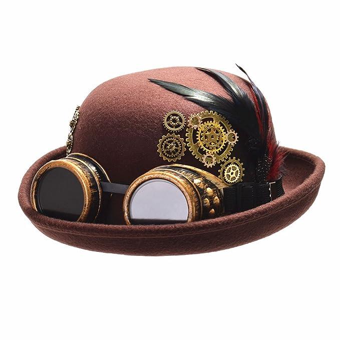 Sombrero para disfraz de cyberpunk - Sombrero de copa cyberpunk para halloween.