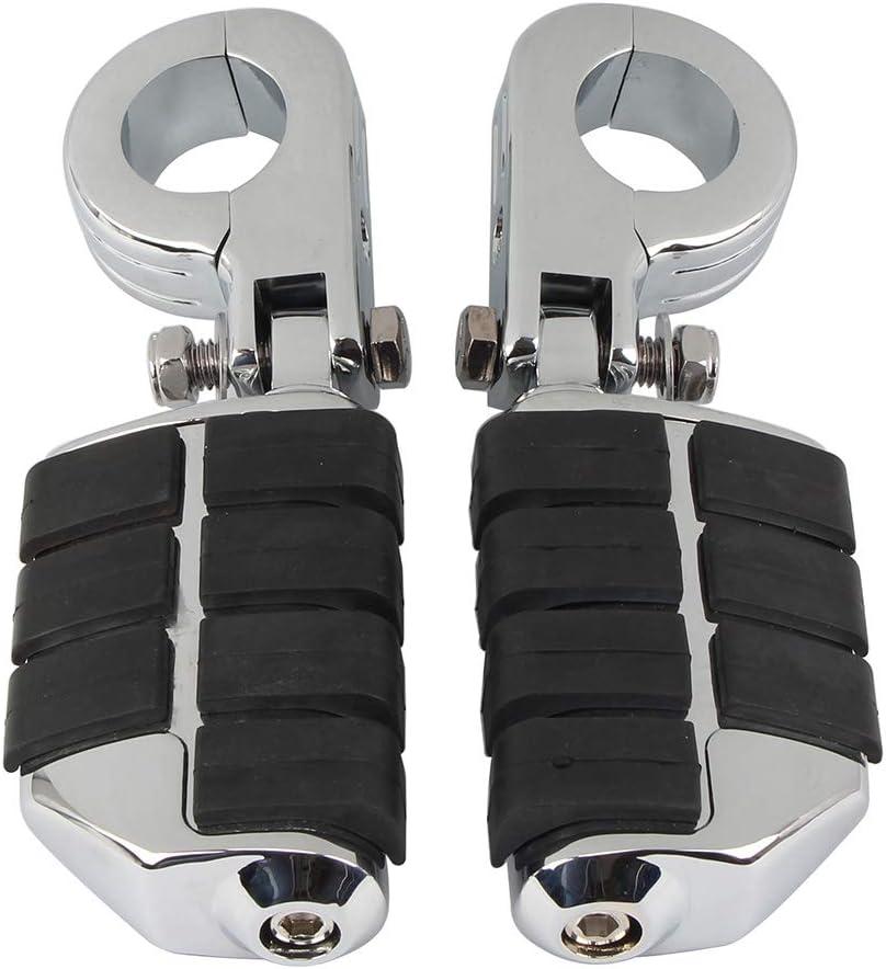 32 mm//38 mm Soporte de pie plegable para motocicleta
