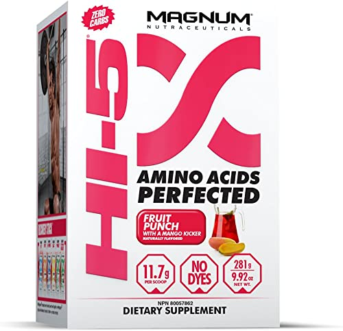 Magnum Hi-5, 5-Phase Amino Acid Supplement – Fruit Punch