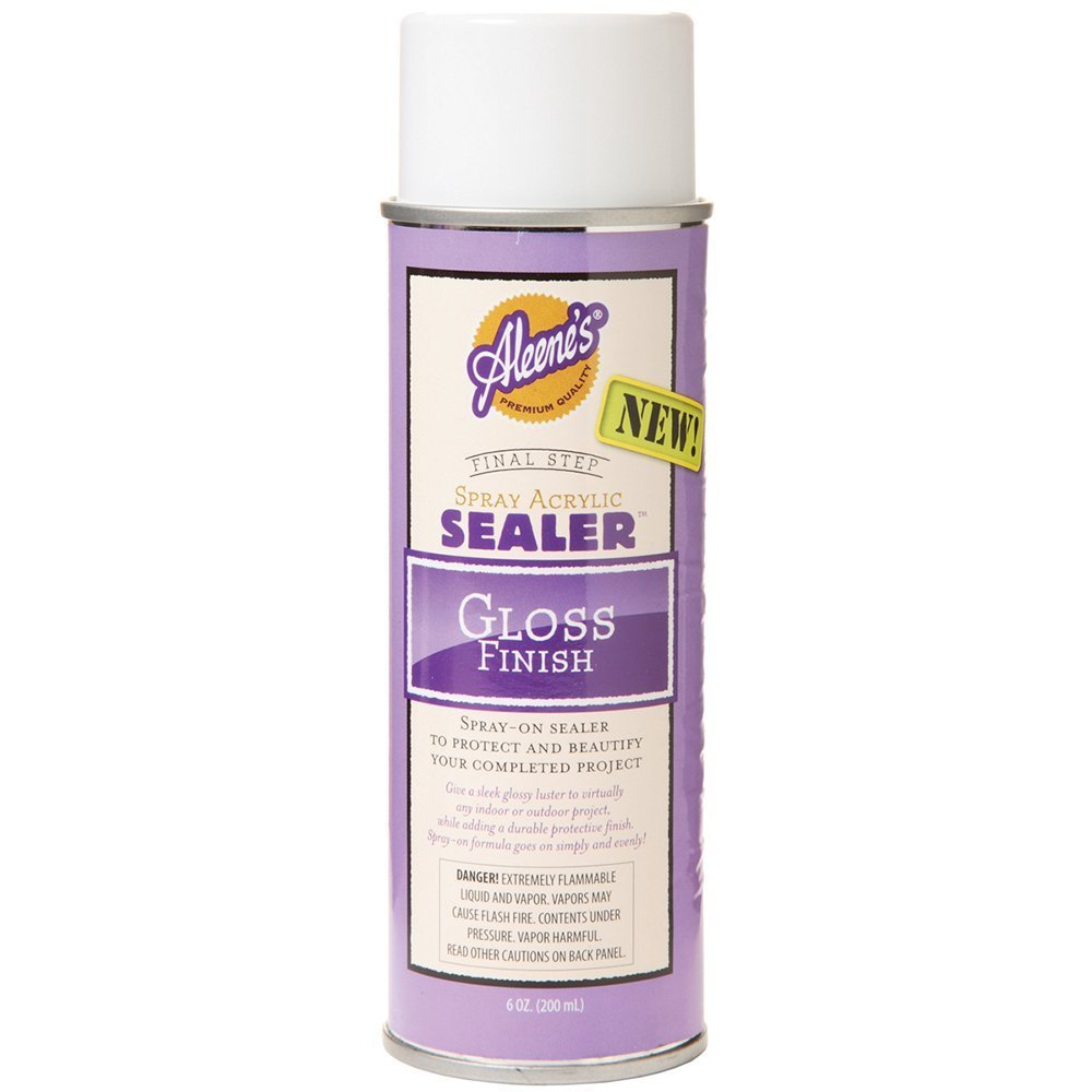 Aleene's 26412 Duncan Spray Acrylic Sealer Gloss Finish 6oz ilovetocreate
