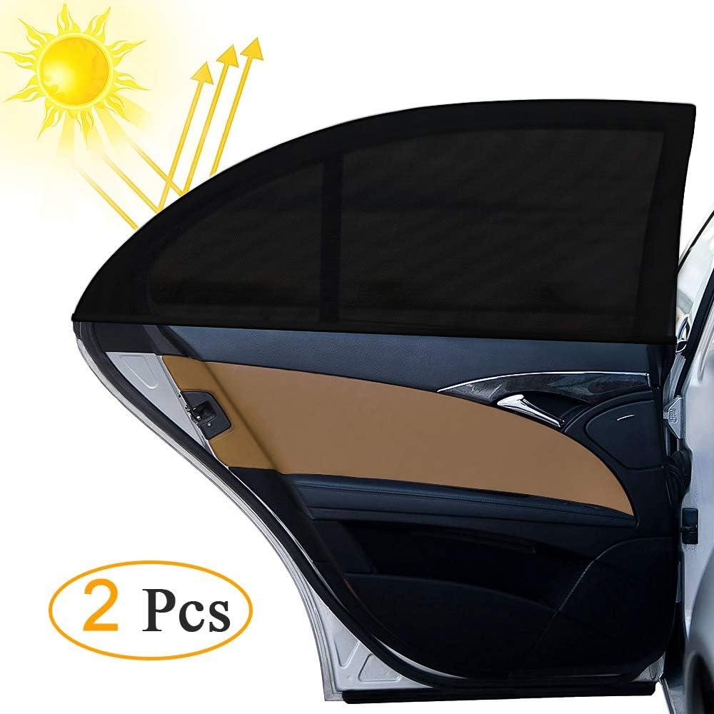 Sonnenschutz Auto Otumixx Universal Sonnenblende Auto Sonnenschutz 2 Stück Mit Uv Schutz Baby Kinder Werdenvor Sonnengeschützt Autoscheiben Sonnenschutz Geeignet Für Autos Und Suvs Schwarz Auto