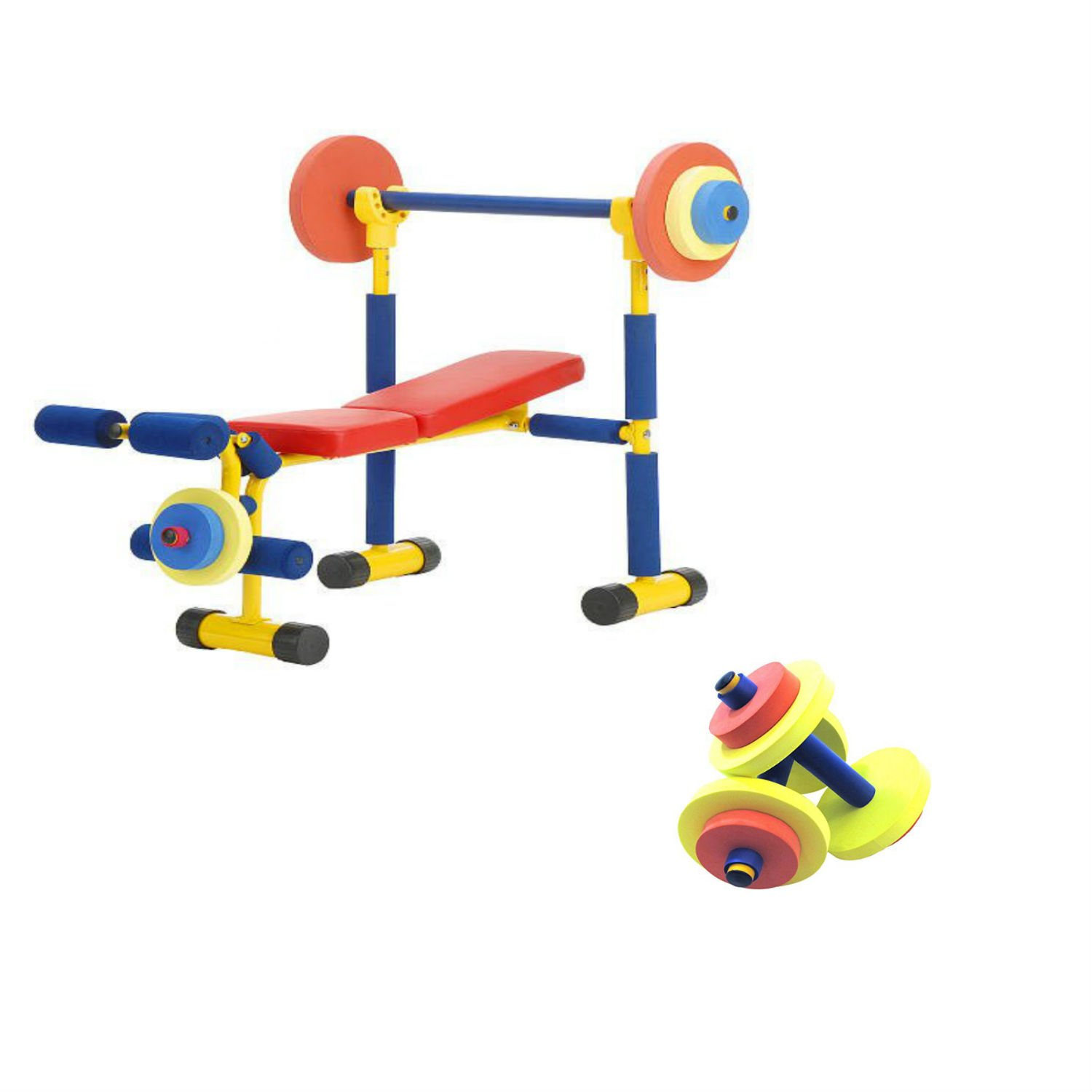 W.C Redmon Fun and Fitness Exercise Equipments for Kids (Combo) by W.C Redmon (Image #1)