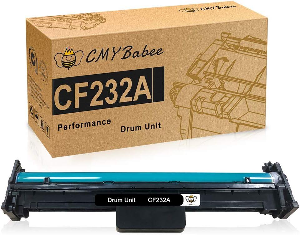 CMYBabee Compatible Drum Unit Replacement for HP 32A CF232A Drum for HP Laserjet Pro M203dw M148dw M227fdw M118dw M148fdw M227fdn Printer (Black, 1 Pack)