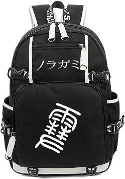 YOYOSHome Noragami Anime Yato Yaboku Cosplay Luminous Rucksack Daypack Laptop Bag Backpack School Bag