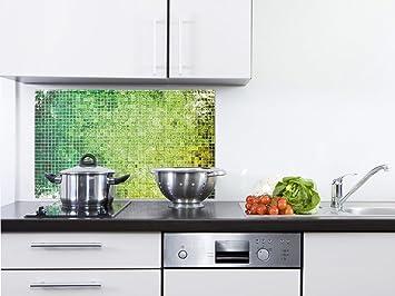 GRAZDesign 200078_100x50_SP Küchen-Spritzschutz aus Echtglas ...