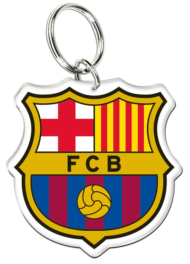 WinCraft FC Barcelona Premium FCB Logo Acrylic Key Ring