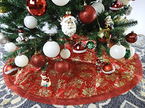 47 2 Fabric Glitter Christmas Skirt