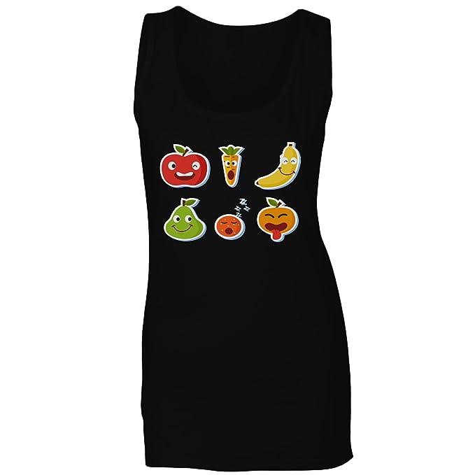 Pegatina R580ft Sin Camiseta Fruta Innoglen Mujer Mangas Divertida SMGzpqUV