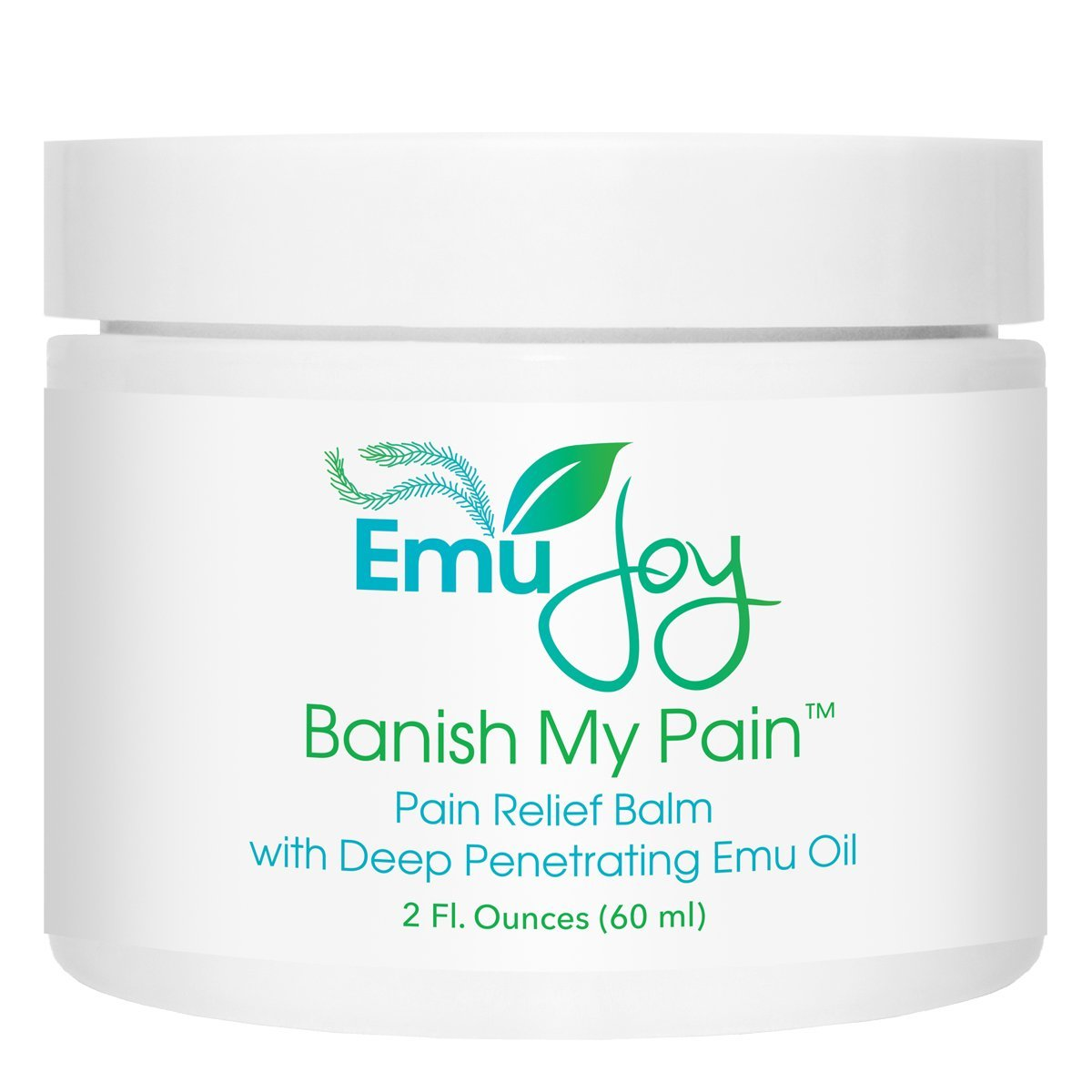 Banish My Pain Emu Oil and Arnica Balm - Concentrated Pain Relief for Joints and Muscles