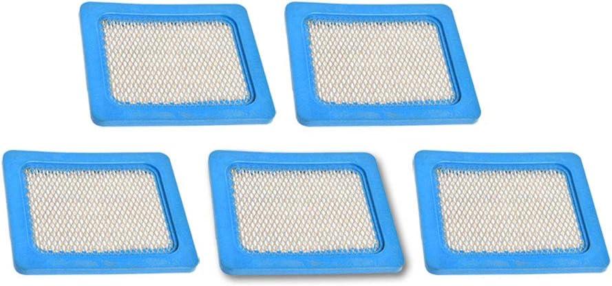 KKmoon 5 St/ücke Filter Luftfilter f/ür Briggs Stratton 491588 491588S 399959 5043D 17211-ZL8-000