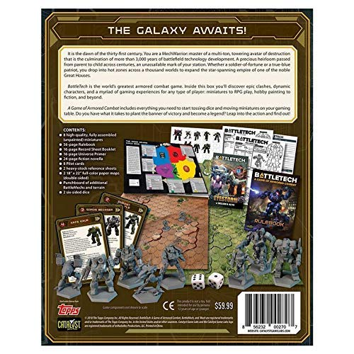 Battletech Game of Armored Combat Catalyst Game SG/_B07MCYLBCR/_US