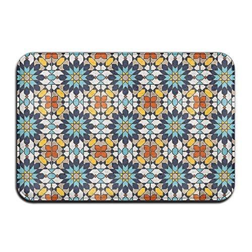 Islamic Design Non Slip Indoor Doormat For Home Office Clean Absorbent Antiskid Kitchen Bath Mats by Pkdkcod