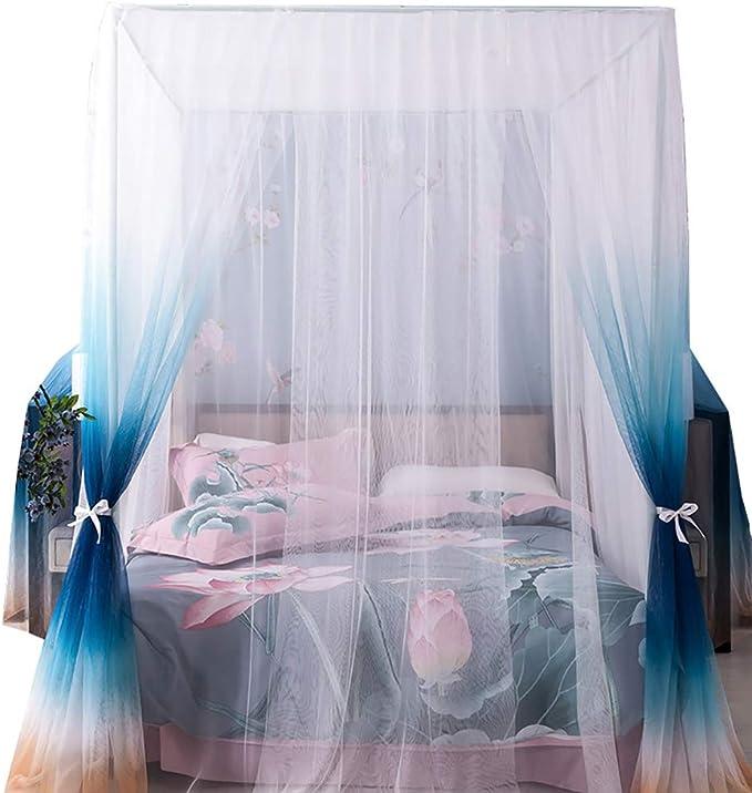 Vorhang Wei/ß f/ür den Innen- und Au/ßenbereich Kuppel Lovestory Moskitonetz//Baldachin Insekten mehr