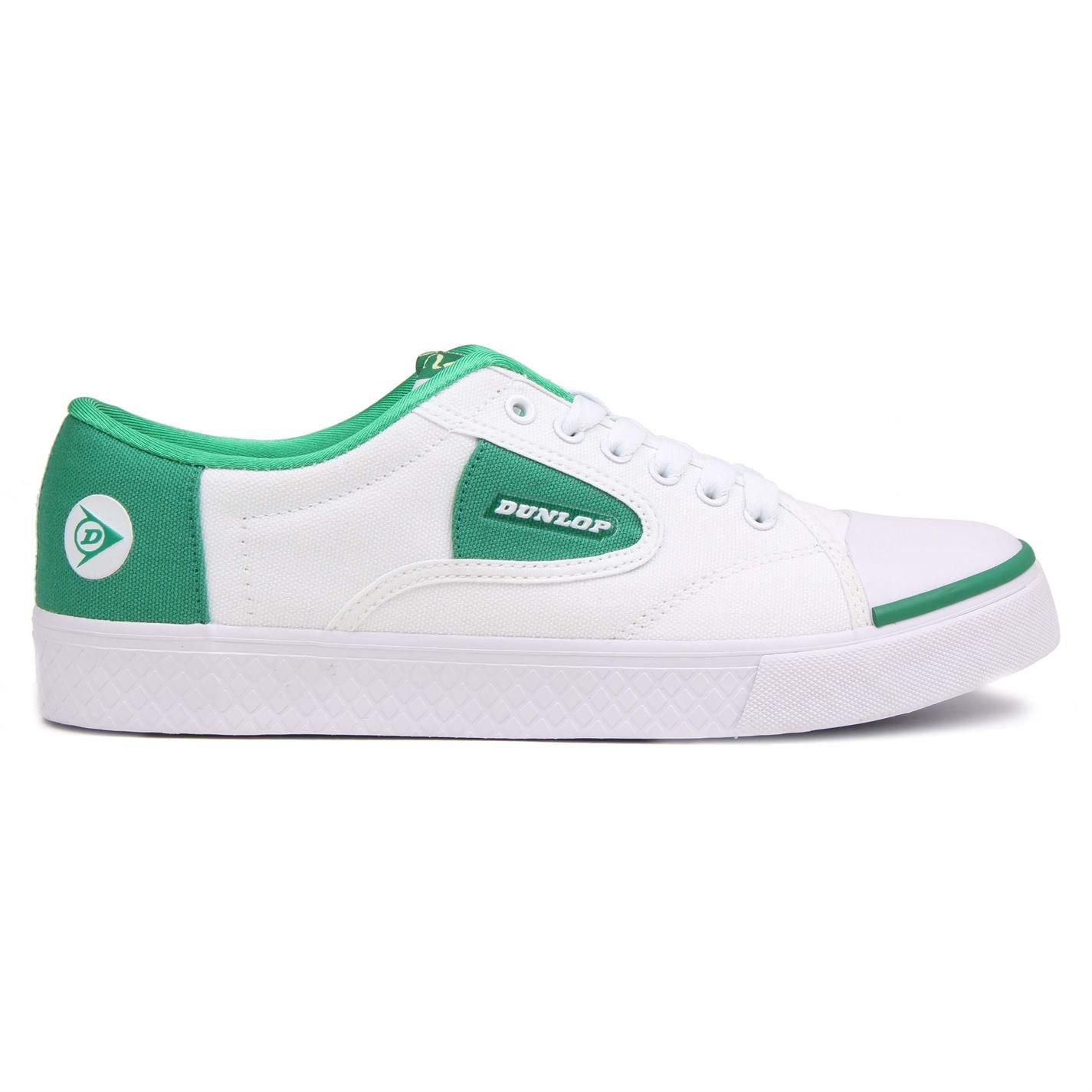 Dunlop Grün leuchtend tennis Schuh.in WeißGrün in Größe