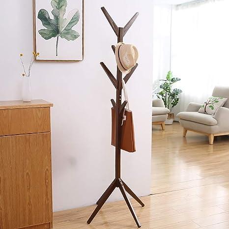Amazon.com: KTOL - Perchero de madera de estilo minimalista ...