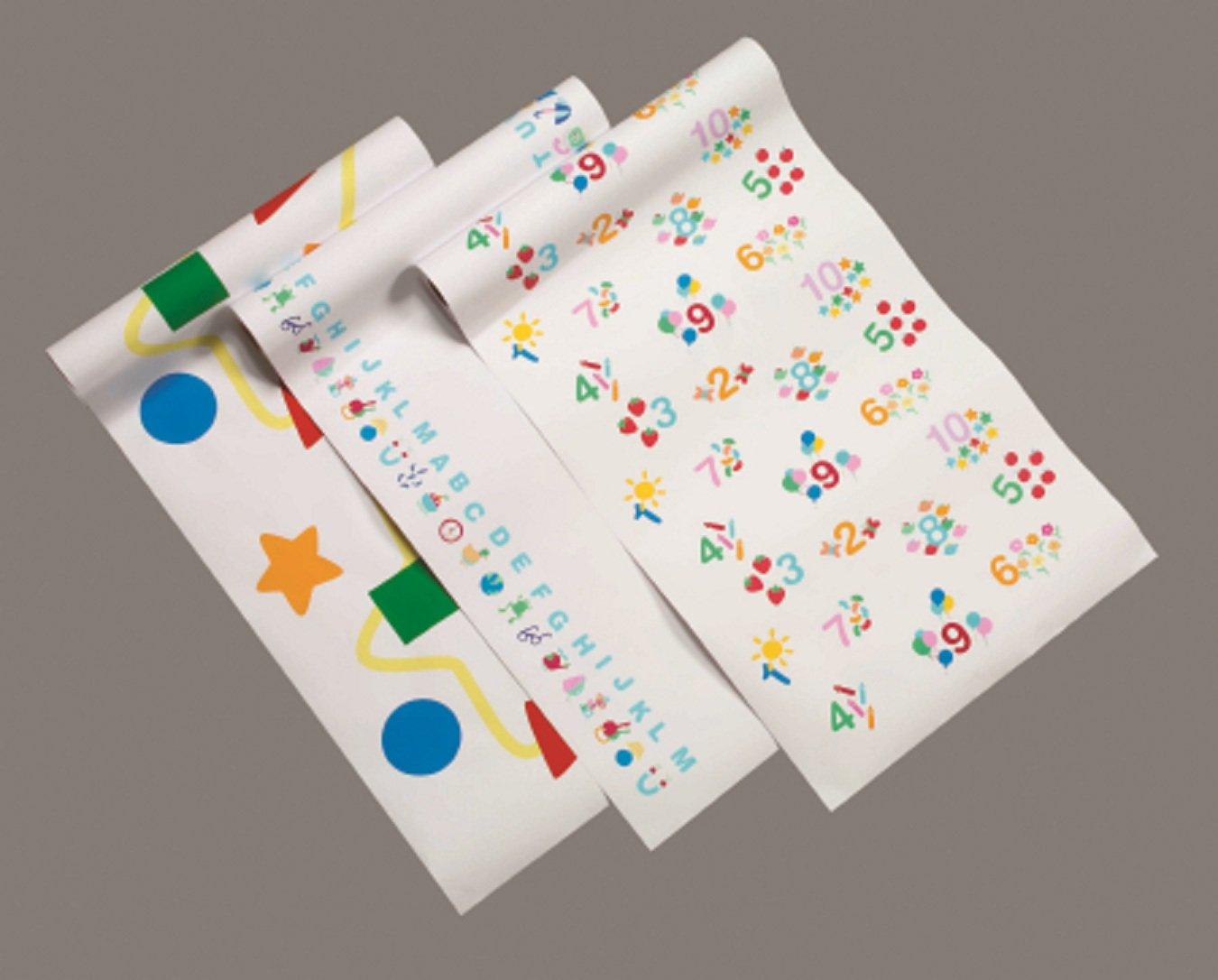 McKesson Print (Pediatric Combo) Crepe Table Paper 14 Inch- 12 Per Case