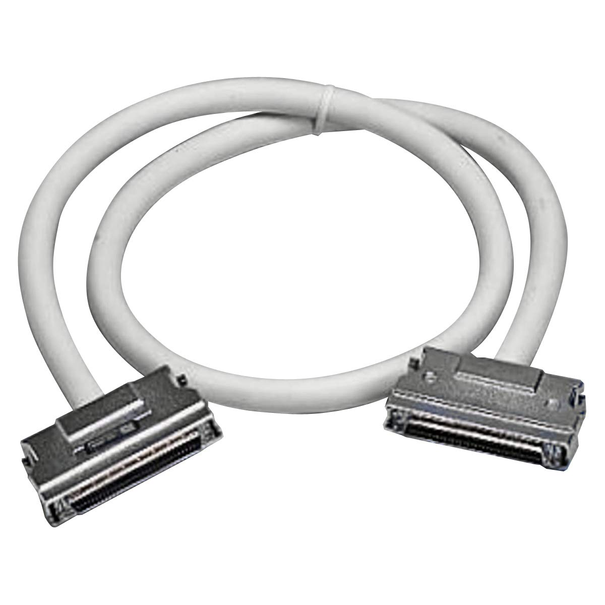 Clip Fastener Male SCSI III to Male SCSI III SCSI Cable Assembly GTT Length=3M
