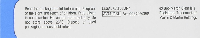 Pastillas antipulgas Bob Martin, para gatos y perros pequeños de menos de 11 kg: Amazon.es: Productos para mascotas