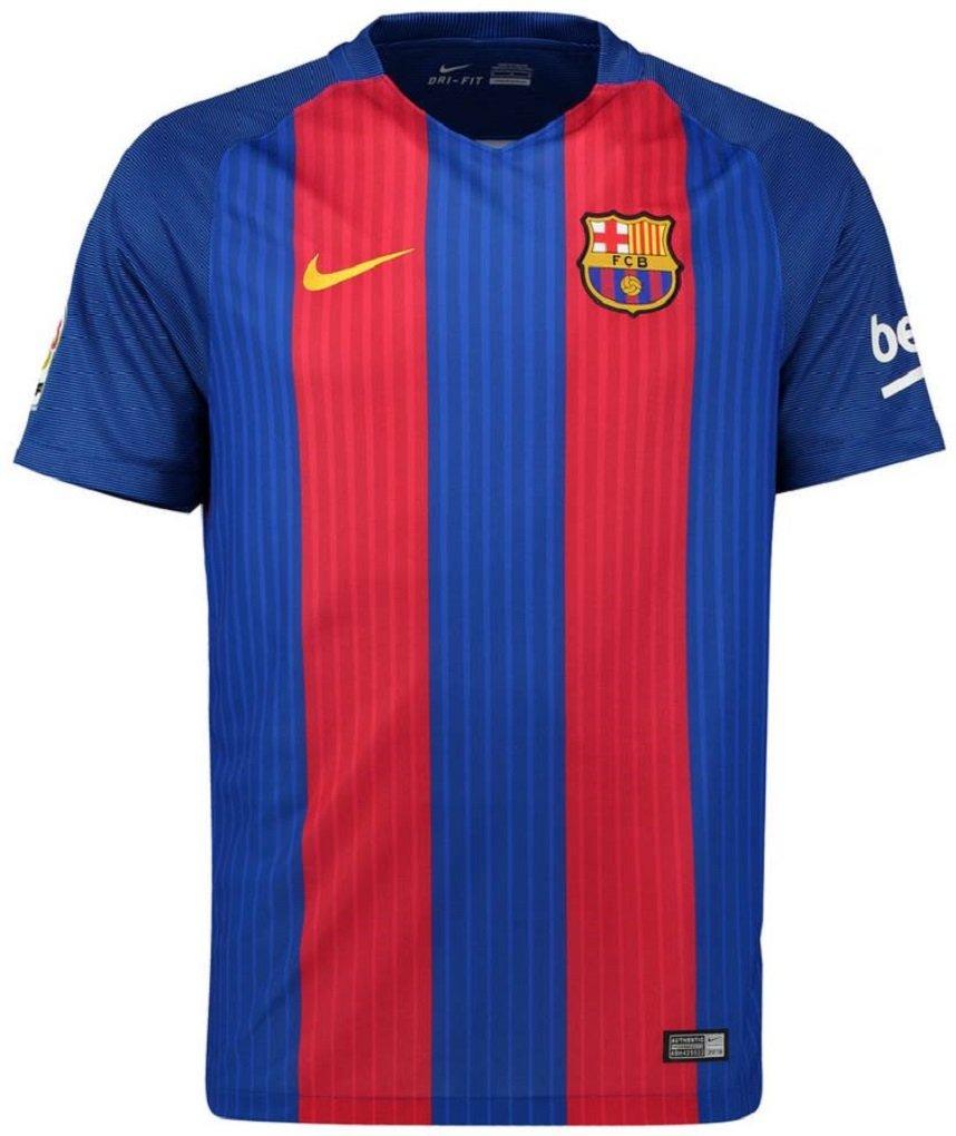 NIKE(ナイキ) FCバルセロナ ホームユニフォーム 2016/17 FC Barcelona Home Shirt 2016/17 [並行輸入品] B01GF5G01G インポートXXL|22 アレイクスビダル / Aleix Vidal インポートXXL