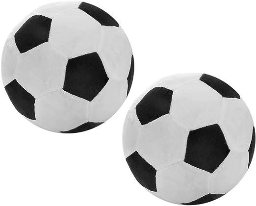 Balón De Fútbol Almohada De Peluche Mullida Pelota De Fútbol De ...