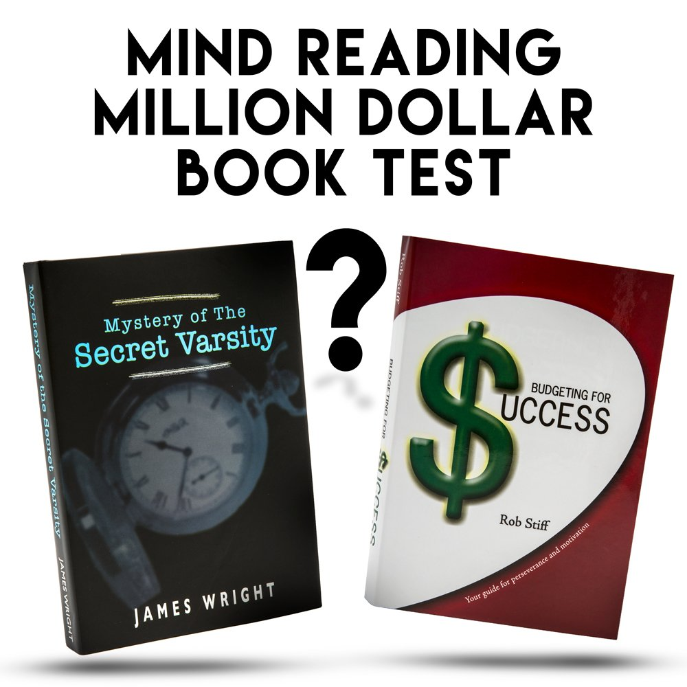 The Million Dollar Book Test - Learn to Read Minds - Outstanding Magic Trick - Includes How To Instructions