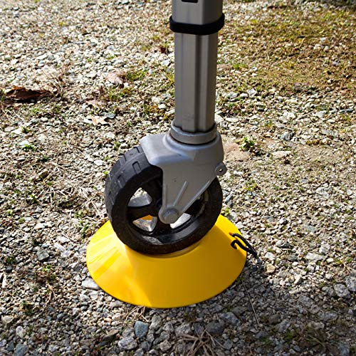 Camco Heavy Duty Wheel Dock with Rope Handle - Helps Prevent Trailer Wheel from Sinking Into Dirt or Mud, Easy to Store and Transport (44632) by Camco (Image #1)