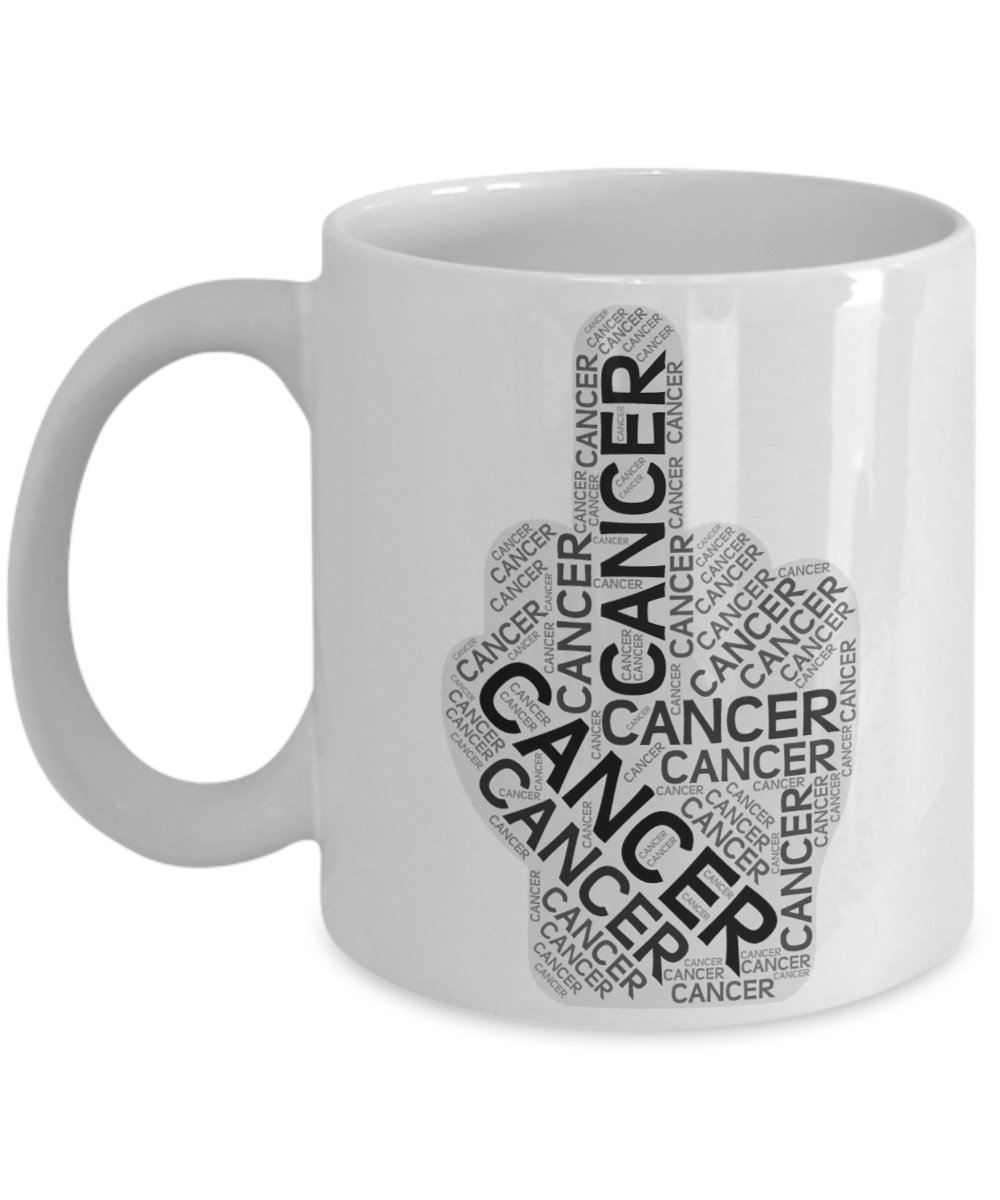 F CK Cancer Mug for Survivorコロン前立腺Brainコーヒーカップギフト 11oz GB-2652722-20-White 11oz ホワイト B07BY34NTY